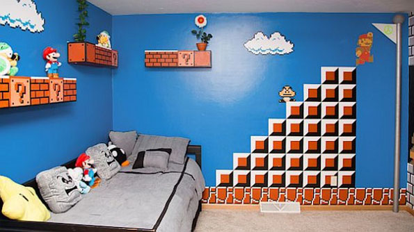 Super Mario Theme Bedroom 2