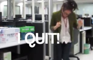 Woman Quits Via Dance Video
