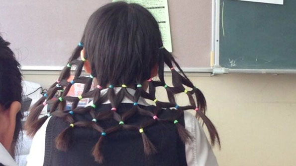 'Net Head' Hairstyle