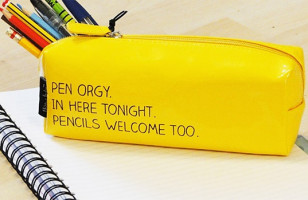 Pen Orgy Pencil Case (Pencils Welcome Too)