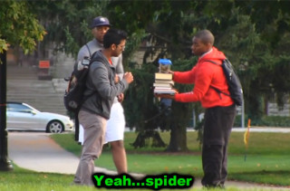 If You Do This Fake Spider Prank You Deserve To Get Punched