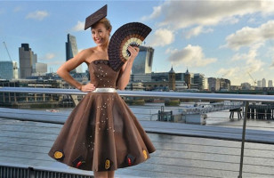 Cocoa Couture Chocolate Dress