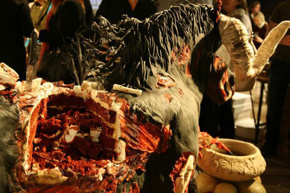 Life Size Devil Horse Cake Incredible Things