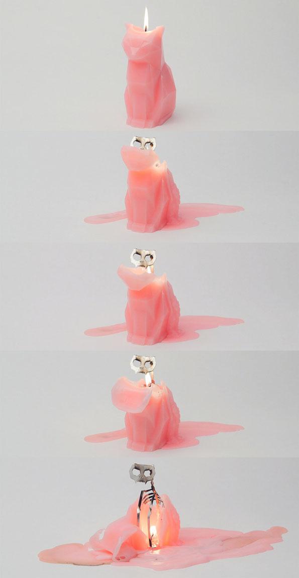 devils-pet-melting-cat-skeleton-candle-1