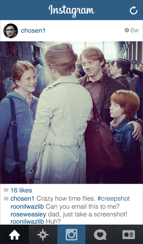 If Harry Potter Had Instagram