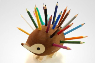 Hedgehog Pencil Holder