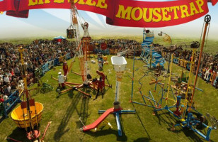 Life-Sized Version of Mousetrap Game in New York