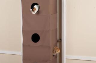 Space Saving Cat Condo