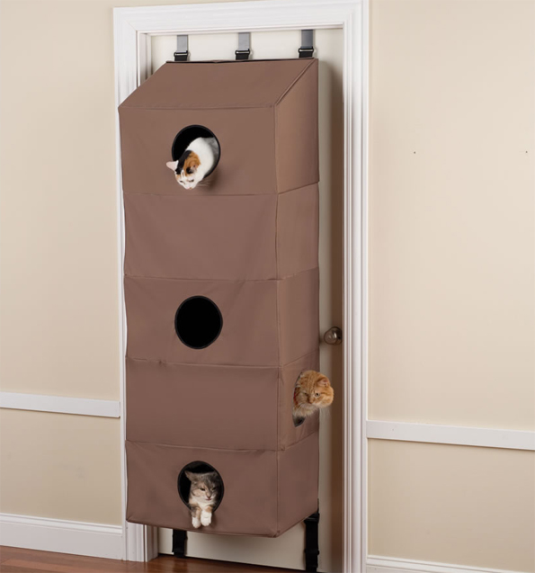 Space Saving Cat Condo