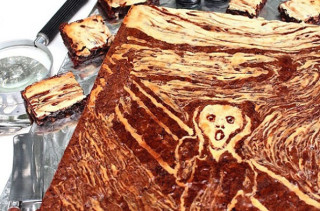 DessArt: The Scream Brownies