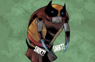 X-Manatees: X-Men As Manatees
