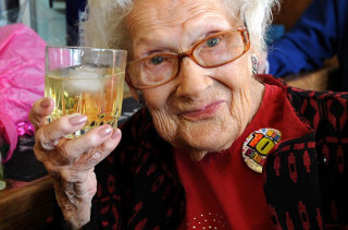 100 Year Old Lady Gives Secret To Long, Healthy Life