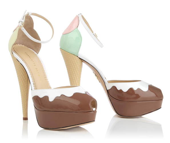 Latest Fashion Scoop: Ice Cream Heels