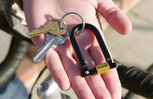 U Lock Keychain