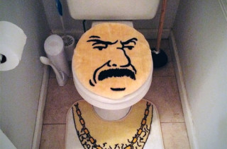 Toilet Themed After Aqua Teen Hunger Force's Carl
