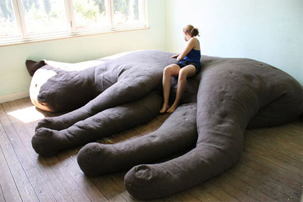 Giant Cat Shaped Couch Incredible Things
