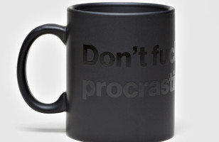 This Mug Won't Let You F*cking Procrastinate