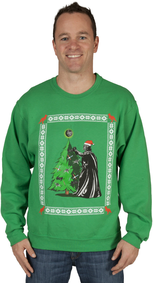 Boba Fett Christmas Sweater.Geeky Christmas Sweaters Incredible Things