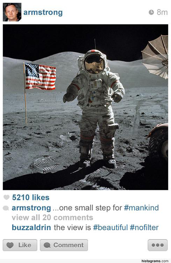 If Historical Events Were Shared On Instagram