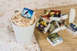 Instagram Photos Printed On Marshmallows