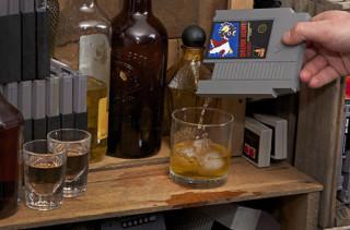 Video Game Cartridge Flasks