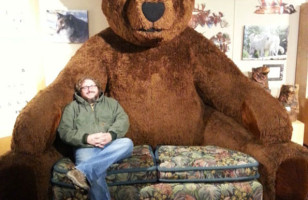 Giant Teddy Bear Sofa