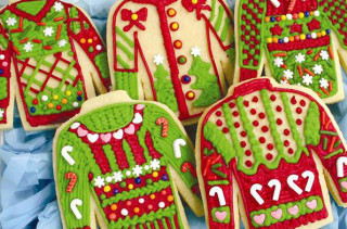 Ugly Sweater Christmas Cookie Kit
