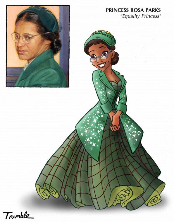 Real Role Models As Disney Princesses Incredible Things