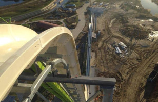 View From World's Tallest Water Slide