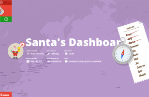 Find Out Exactly Where Santa is with Google's Santa Tracker