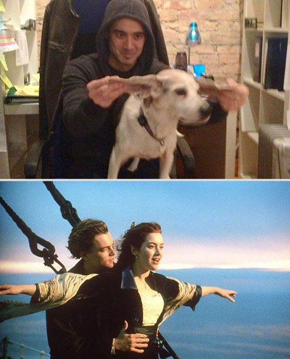 dog-man-recreated-movie-scenes-2