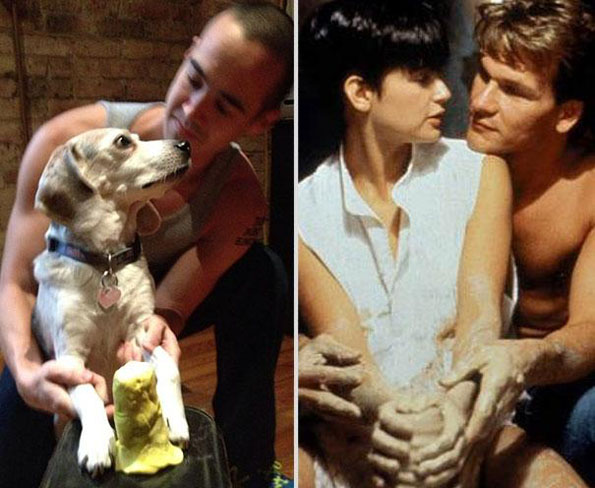 dog-man-recreated-movie-scenes-8