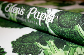 Plantable Wrapping Paper