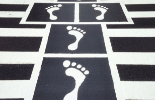 A Hopscotch Crosswalk