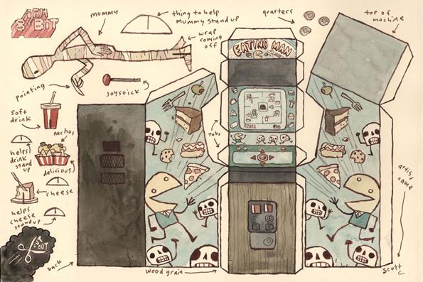 papercraft-arcade-games-2