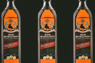Ron Burgundy Approved Scotch Whisky