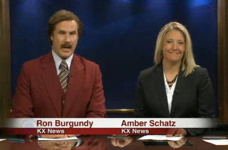 Will Ferrell Hosts Local News As Ron Burgundy