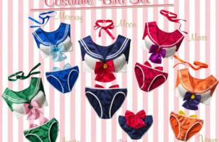 Sailor Moon Bra & Panty Sets