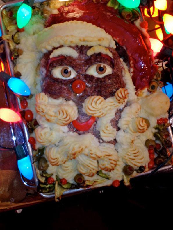 Christmas Meatloaf.Santa Claus Meatloaf Incredible Things
