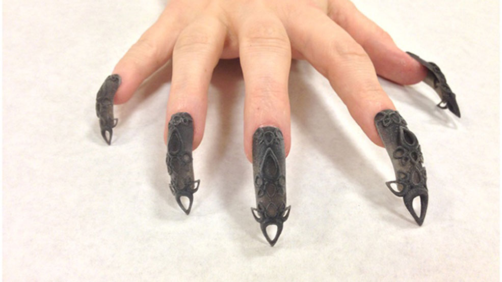 3d printed nail art categories art design tech by brittany high tweet