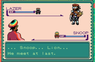 Snoop Lion Goes 8-Bit for New Music Video