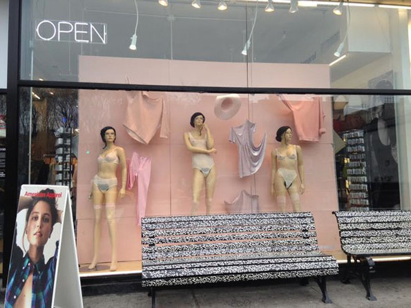 American Apparel Ads Now With More Bush