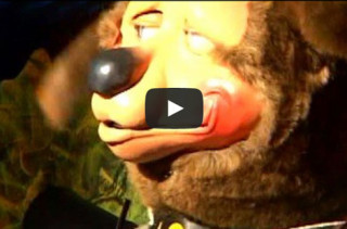 Animatronic Band Programmed To Rap