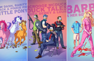 Badass Versions of Childhood Characters