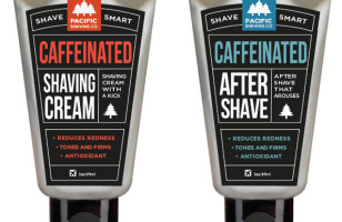 Caffeinated Shaving Cream Saves Time & Calories