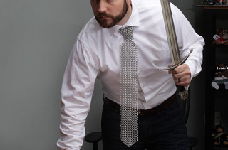 Chain Mail Necktie