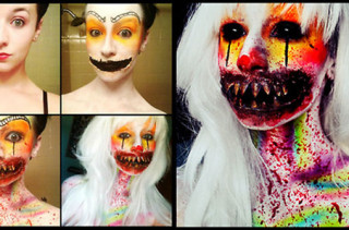 Horrifying Make Up Transformations