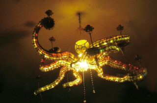 Awesome Octopus Chandelier
