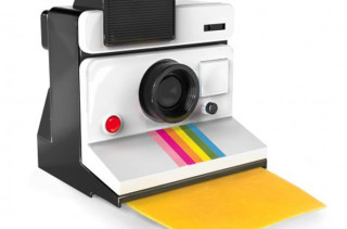 Polaroid Camera Cheese Slicer