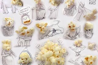 Random Foods Make Clever Faces